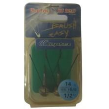 Крючок анти джиг HAYABUSA Brush Easy FF 150B N 5/0-14 (2 шт)