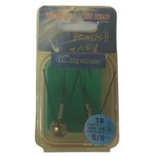 Крючок анти джиг HAYABUSA Brush Easy FF 150B N 5/0-18 (2 шт)