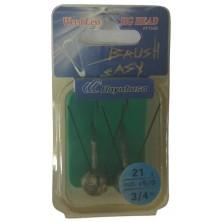 Крючок анти джиг HAYABUSA Brush Easy FF 150B N 5/0-21 (2 шт)