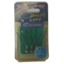 Крючок анти джиг HAYABUSA Brush Easy FF 150B N 4/0-3,5 (3шт)